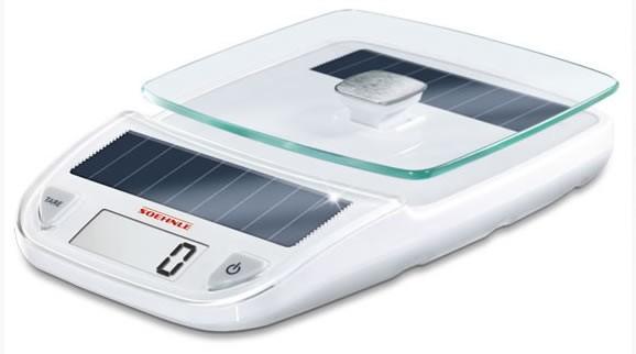 Soehnle Easy Solar White Küchenwaage