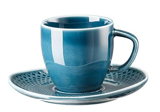 Rosenthal Junto ocean blue Espressotasse 0,08 L im Geschenkkarton