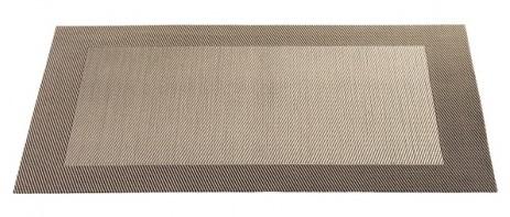 ASA Tischset mit gewebtem Rand 33,0 x 46,0 cm bronze