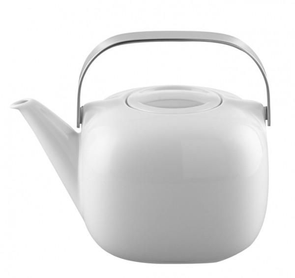 Rosenthal Suomi weiß Teekanne 6 Personen 1,34 L