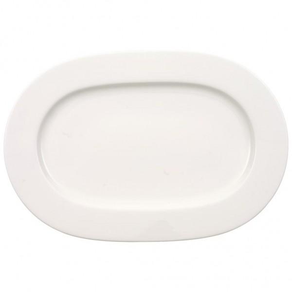 V&B Anmut Platte oval 34 cm