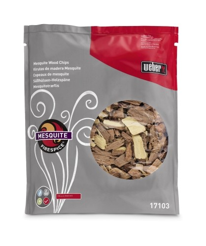 Weber Erlebnis Fire Spice Mesouite Chips