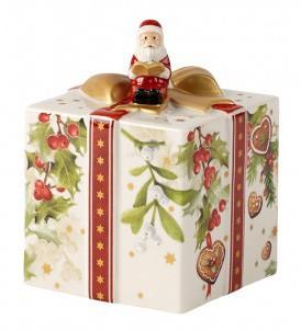V&B Nostalgic Melody Geschenkpaket mit Santa 10 cm