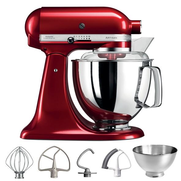KitchenAid Artisan 5KSM175PSECA Küchenmaschine liebesapfel rot