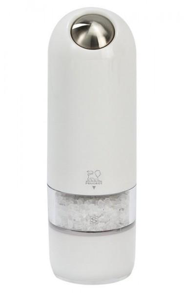 Peugeot Alaska Salzmühle elektrisch weiß 17 cm