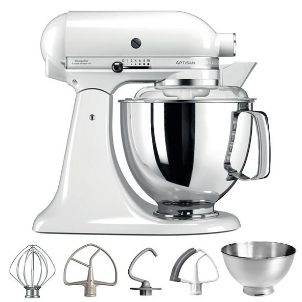 KitchenAid Artisan 5KSM175PSEWH Küchenmaschine weiß