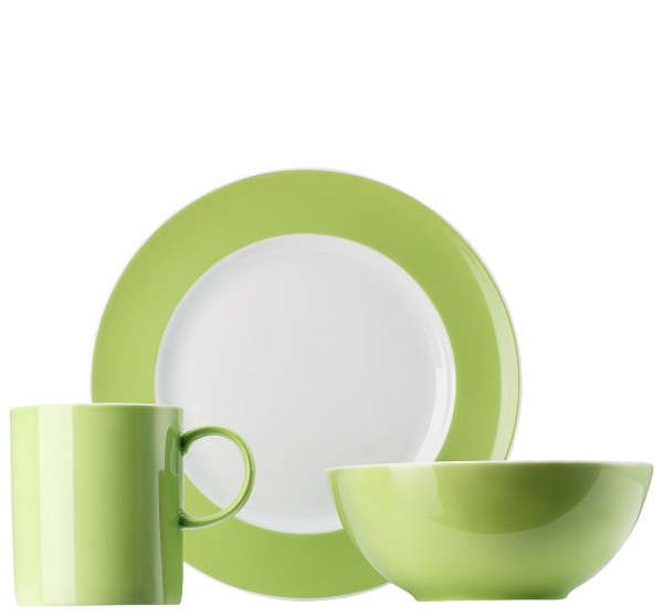 Thomas Sunny Day Apple Green Kinderset 3-teilig