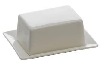 M&W White Basics Kitchen Butterdose 125 gr
