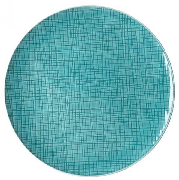 Rosenthal Mesh Colours aqua Teller flach 30 cm