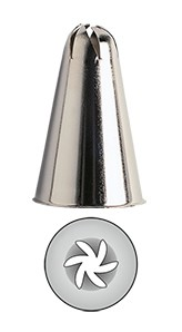 Kaiser Rosettentülle 6 zackig 15 mm
