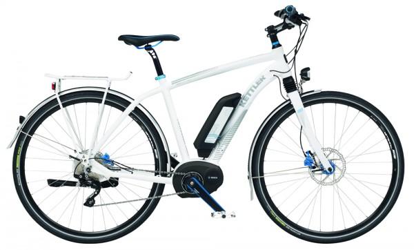 Kettler Traveller E Light Elektro Herrenrad 28 Zoll/50 cm weiß matt
