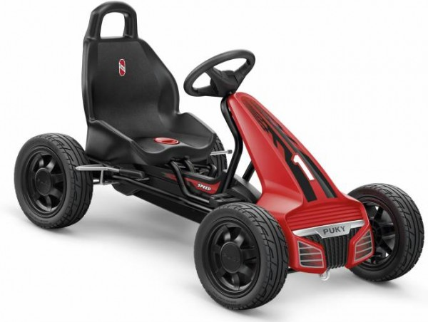 Puky F 550 L Go-Cart schwarz/rot