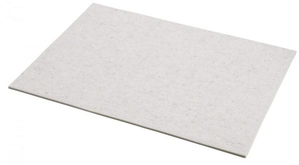 daff Tischset aus Filz 33 x 45 cm beige meliert