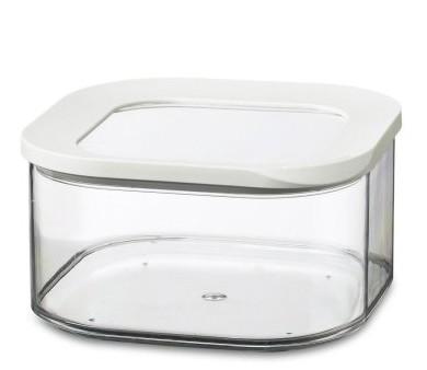 Mepal Modula Vorratsdose quadratisch weiß 1,25 L