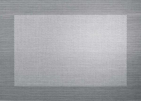 ASA Tischset mit gewebtem Rand 33,0 x 46,0 cm silver black metallic