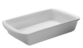 M&W White Basics Kitchen Auflaufform 43 cm