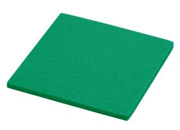 daff Untersetzer aus Filz 10 x 10 cm pepper green