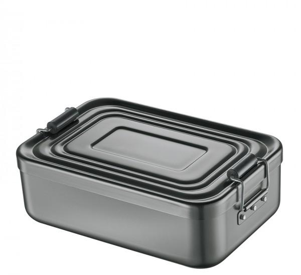 Küchenprofi Lunch Box anthrazit 17,8 x 11,8 x 6,2 cm
