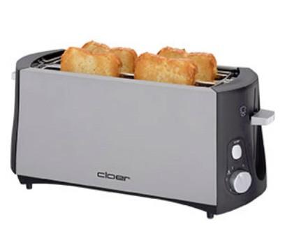 Cloer 3710 Toaster für 4 Toastscheiben