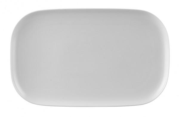 Rosenthal Moon weiß Platte 38 x 24 cm