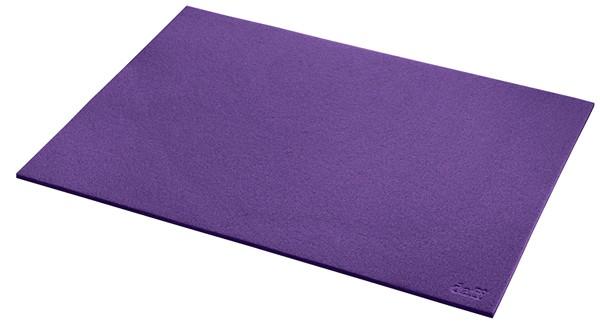 daff Tischset aus Filz 33 x 45 cm lavendel