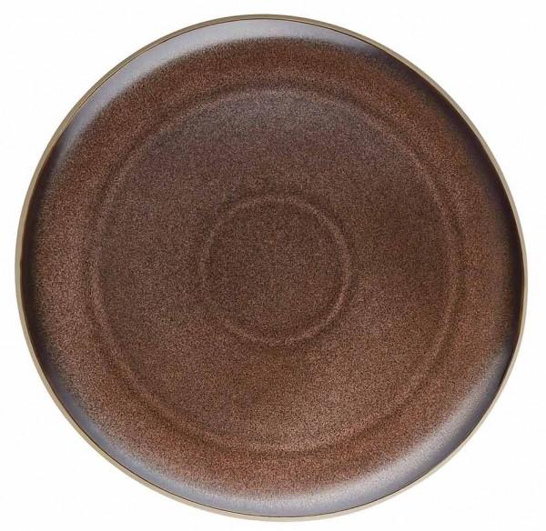 Rosenthal Junto skiny bronze Teller flach 27 cm