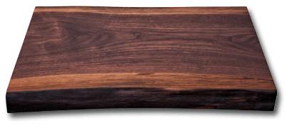 Kai DM-0809 Blockbrett Walnuss 58,0 x 35,0 - 40,0 cm