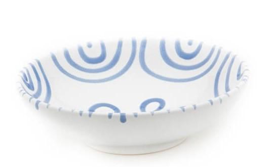 Gmundner Blaugeflammt Schale groß 17 cm