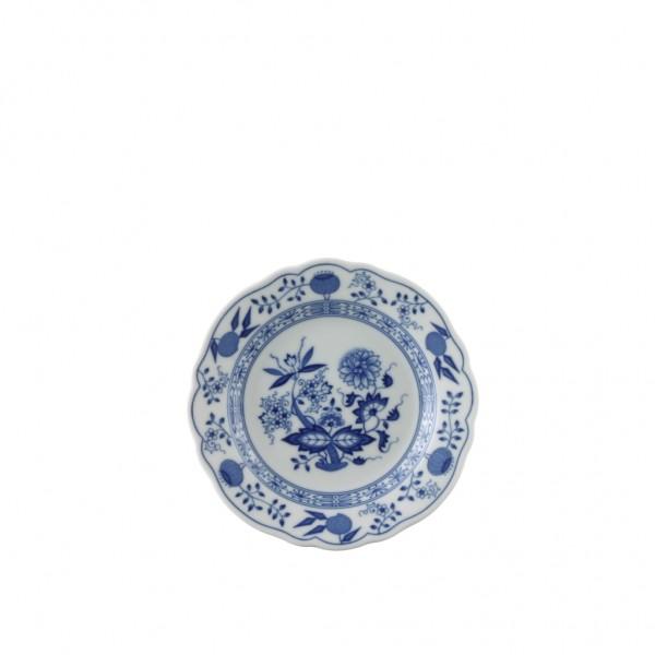 Hutschenreuther Blau Zwiebelmuster Brotteller 15 cm Fahne