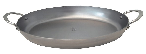 DeBuyer Mineral B Element Pfanne oval 36,0 cm