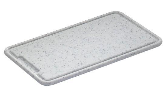 Zassenhaus Tranchierbrett Kunststoff granit 42,0 x 27,0 cm