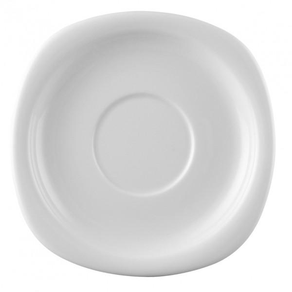 Rosenthal Suomi weiß Suppen Untertasse 19,5 cm