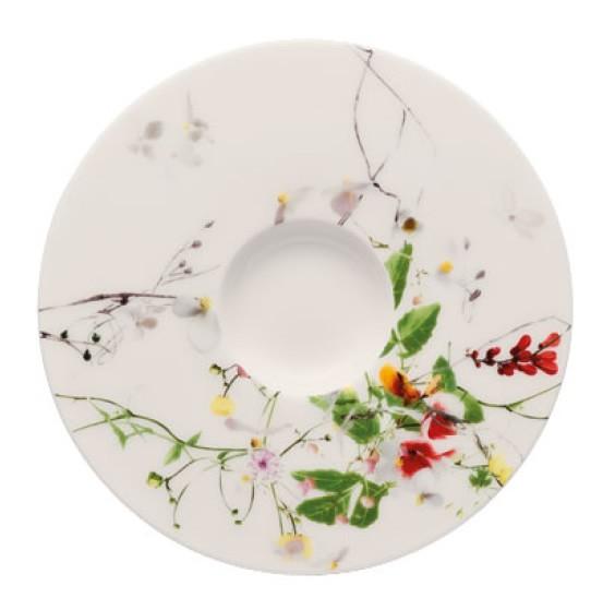 Rosenthal Brillance Fleurs Sauvages Espresso-Untertasse 12 cm