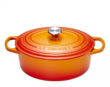 Le Creuset Bräter oval 35 cm ofenrot