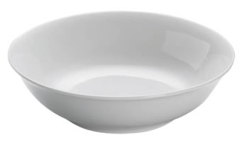 M&W White Basics Round Pasta- Suppenteller 20,0 cm