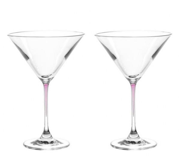 Leonardo La Perla viola Cocktailschalen 2er Set 0,3 L