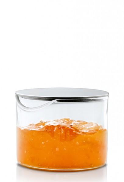 Blomus Basic Marmeladenglas mit Edelstahldeckel 0,10 L
