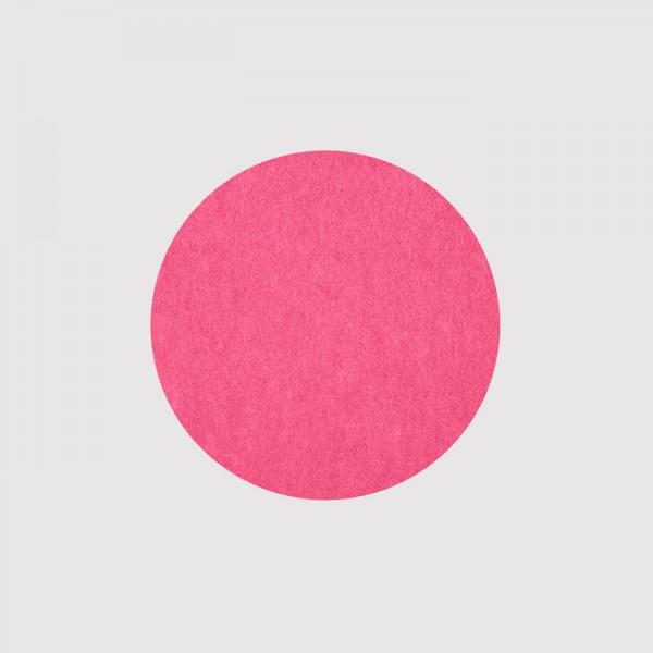 daff Fiberixx Untersetzer aus recycelten Plastikflaschen Scheibe 10 cm pink