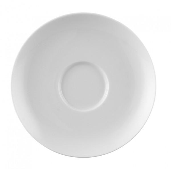 Rosenthal Moon weiß Kaffee Untertasse 14,5 cm
