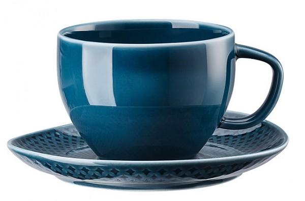 Rosenthal Junto ocean blue Kombitasse 0,28 L im Geschenkkarton