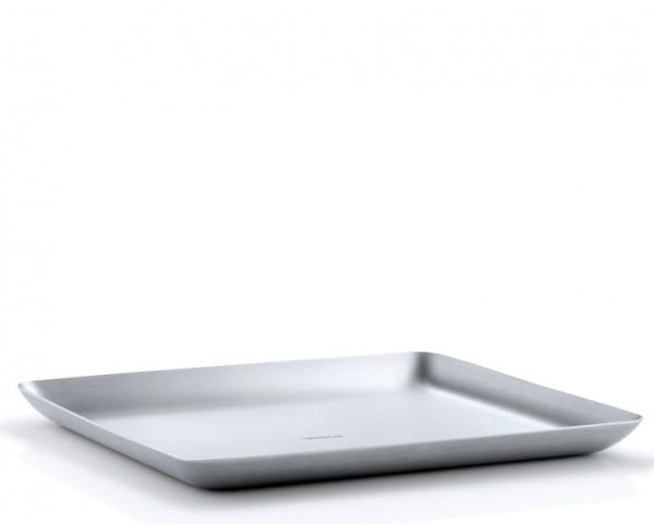 Blomus Basic Tablett Edelstahl matt 17,0 x 20,0 cm