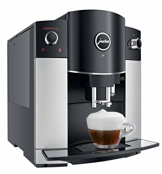Jura D6 Kaffeevollautomat platin