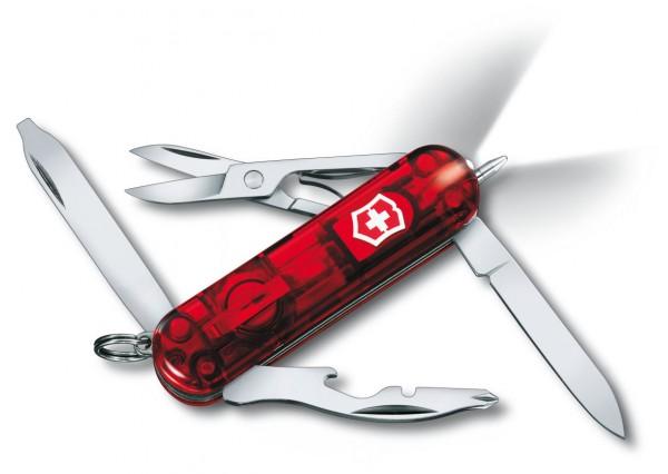 Victorinox Midnite Manager RubinTaschenmesser rot transparent