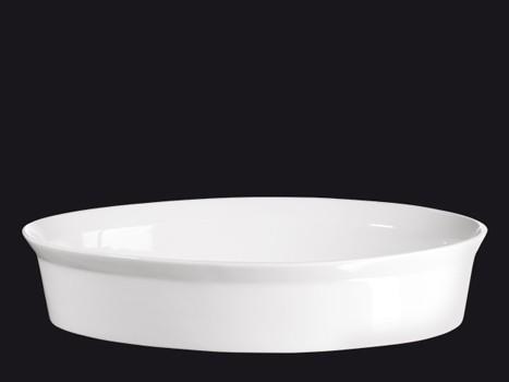 ASA 250° C plus Gratinform weiß oval 34 x 22 cm