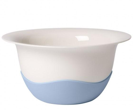 V&B Clever Cooking Sieb-/Servierschüssel blau