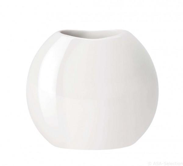 ASA Living Vase Moon weiß glänzend 23 cm