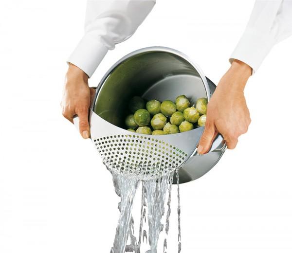 Küchenprofi Abgiess-Sieb gross