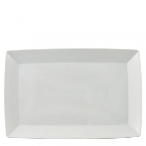Thomas Trend weiß Platte eckig 28 cm