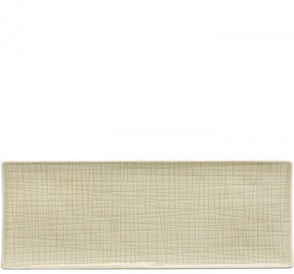 Rosenthal Mesh Colours cream Platte flach 34 x 13 cm