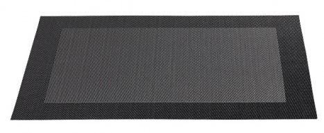 ASA Tischset mit gewebtem Rand 33,0 x 46,0 cm anthrazit